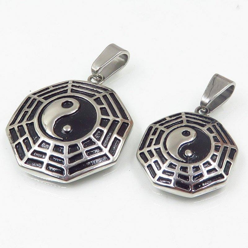 Online selling different specifications ss couple pendant