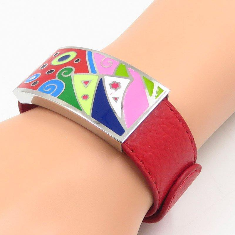 Graceful design hottest stainless steel lady bangle
