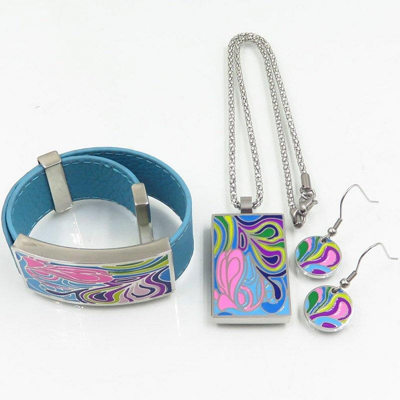 Charming stainless steel arrival items jewelry set