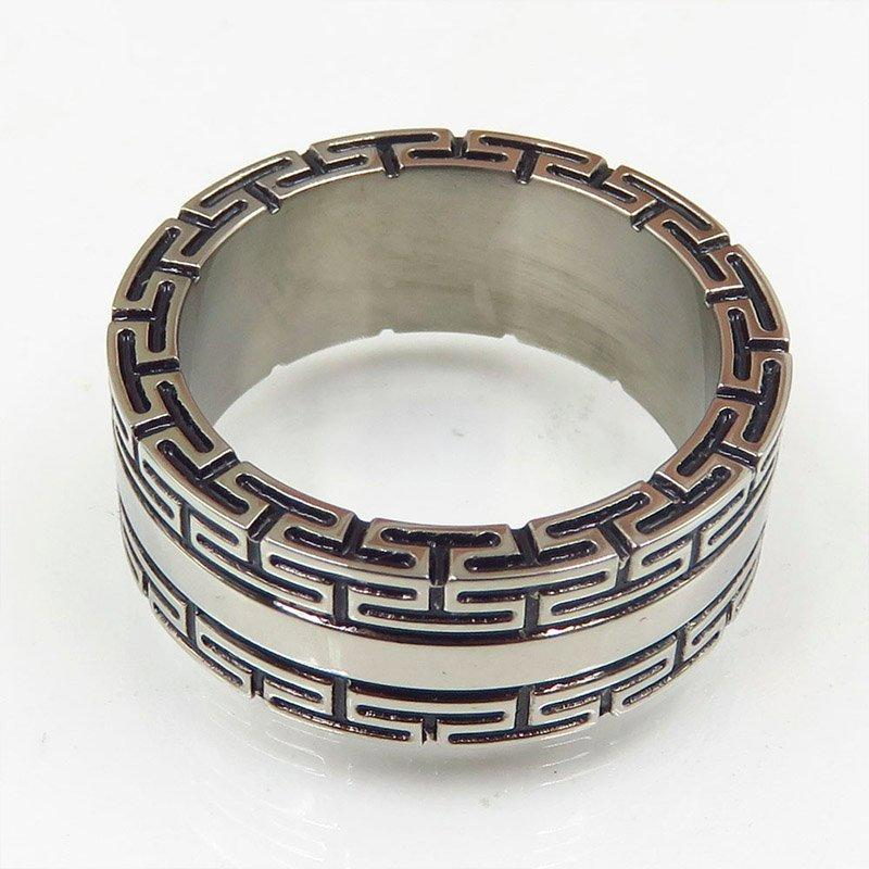 Factory designs stainless steel ring for adult