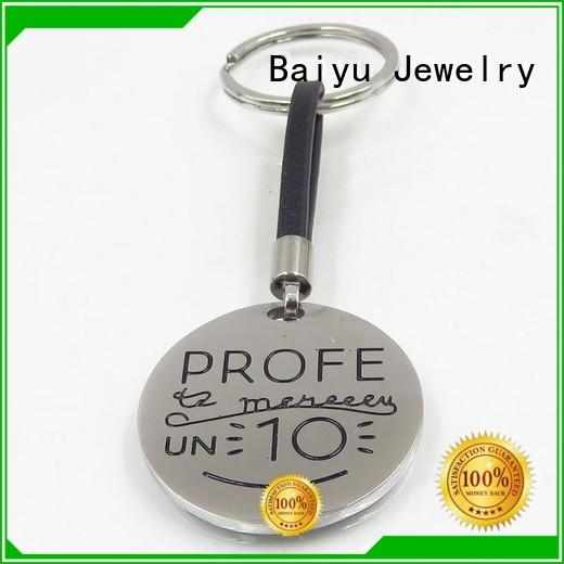 Baiyu Jewelry keychain manufacturers charming for girls