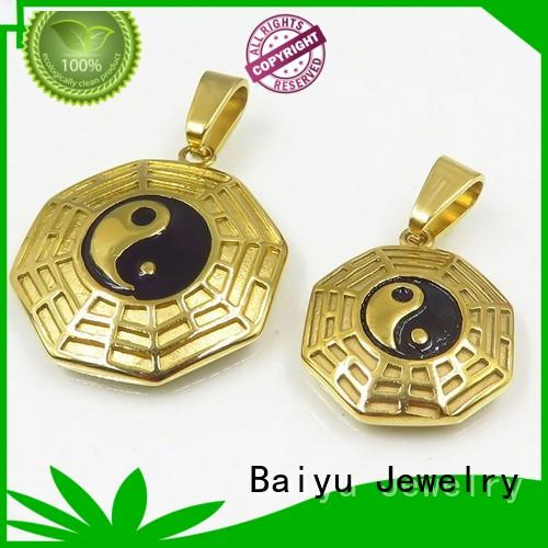 different specifications couple chains pendants top selling for women Baiyu Jewelry