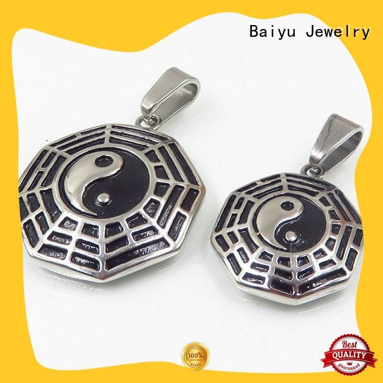 Baiyu Jewelry design pendant pair high-end for boys