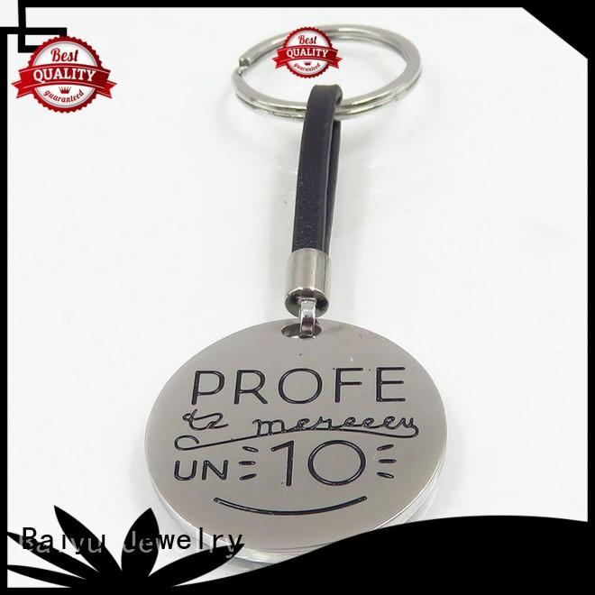 keychain manufacturers unique design for girls Baiyu Jewelry