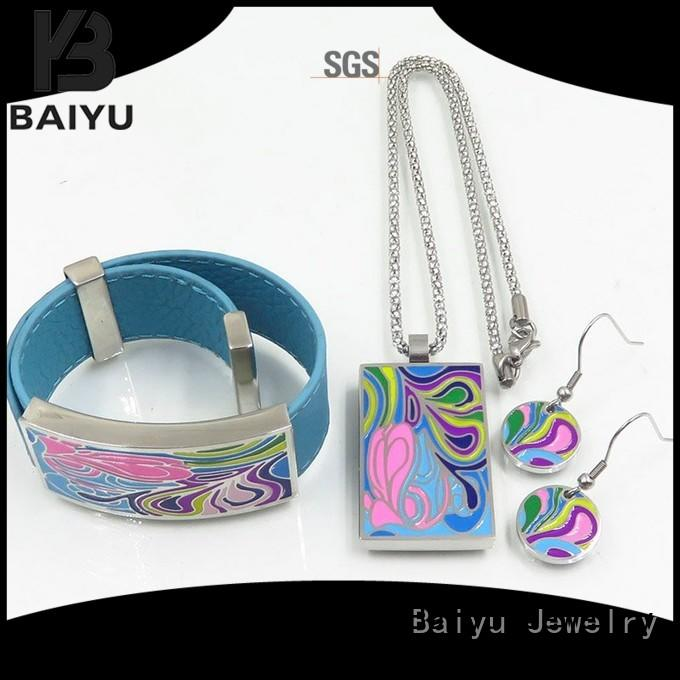 Baiyu Jewelry lucky enamel antique jewelry arrival with jewelry