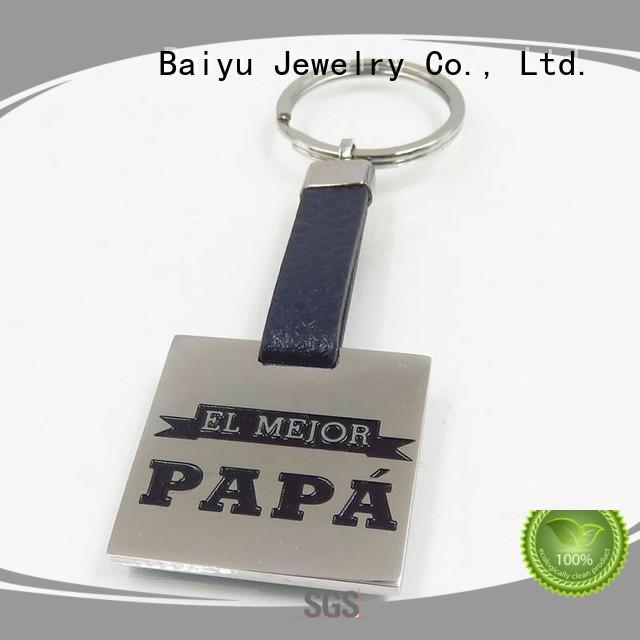 Baiyu Jewelry custom made keychains high-quality for ladies