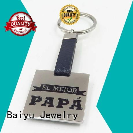 hot-sale custom made keychains personalized color for girls Baiyu Jewelry