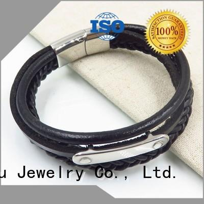 hot-sale leather bangle for wholesale