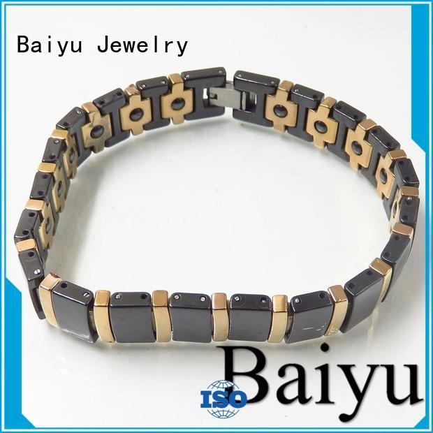 top sale fashion ceramic bracelet Baiyu Jewelry Brand company