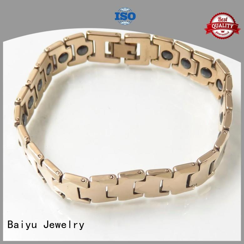 hot-sale tungsten carbide mens bracelet for girls
