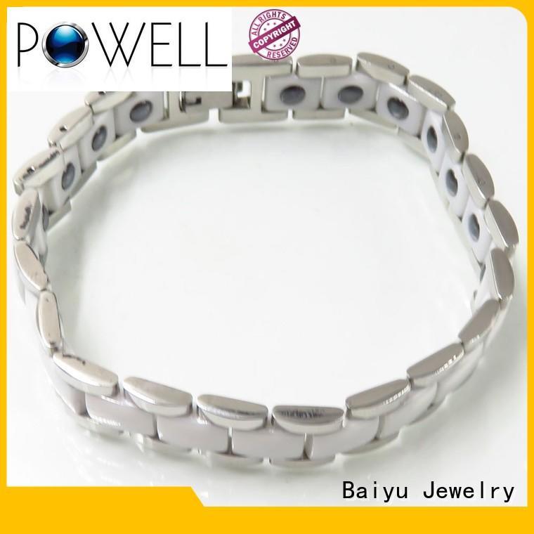 ceramic mens bracelet national Baiyu Jewelry Brand ceramic bracelet