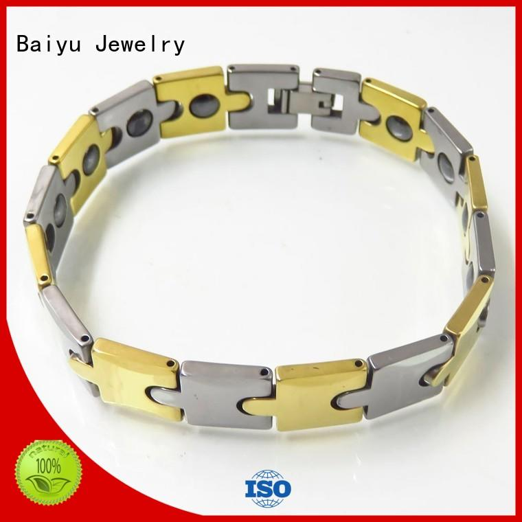 competitive price tungsten carbide bracelet green gemstone for women