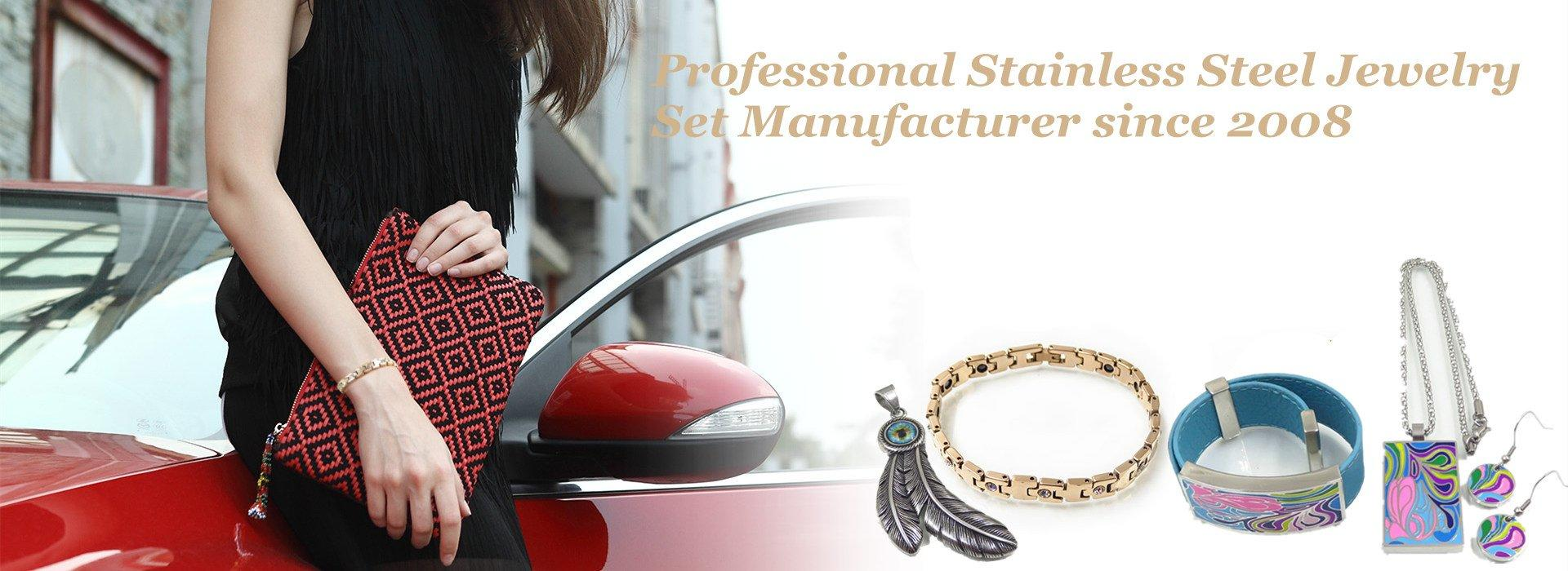 Stainless Steel Jewelry Set Manufacturer