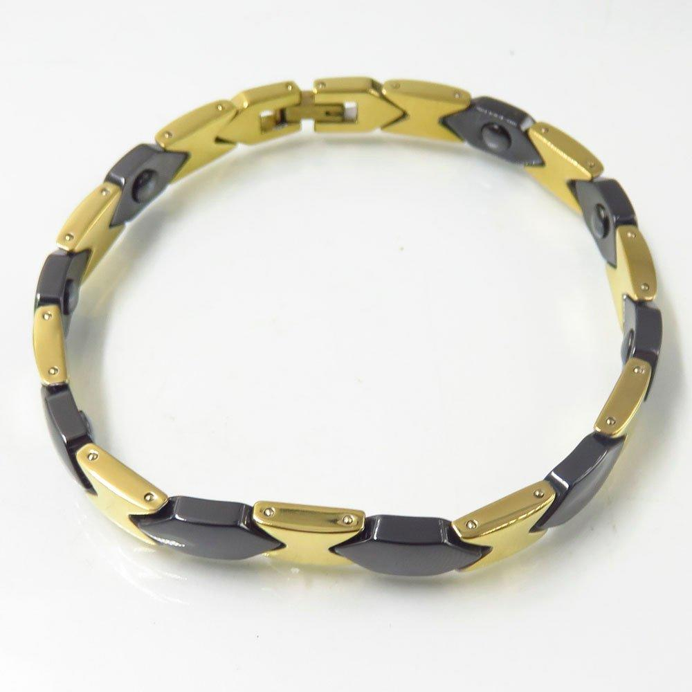 China ceramic bracelets with stainless steel