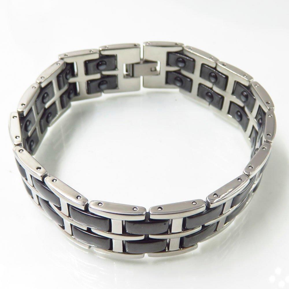 New arrival cute ceramic double layer ss bracelet