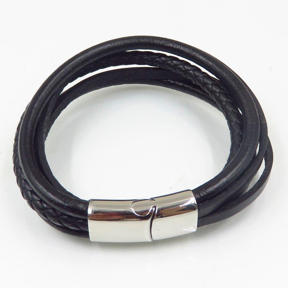 Genuine leather bracelet unisex imaginative bangle