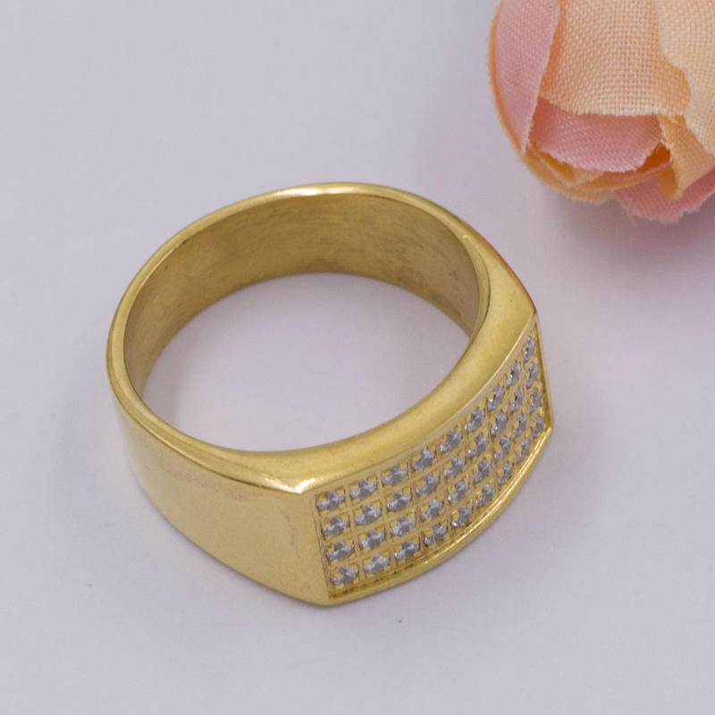 Gold ring designs for women, stone ring designs for women, women's CZ Ring