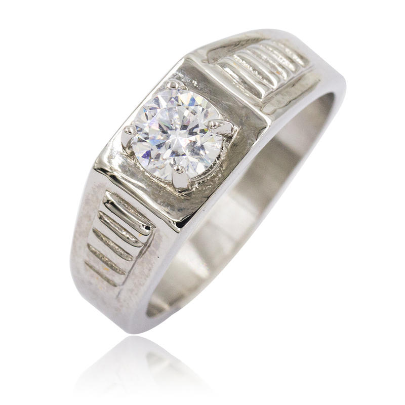 Unique model silver stainless steel ring jewelry women