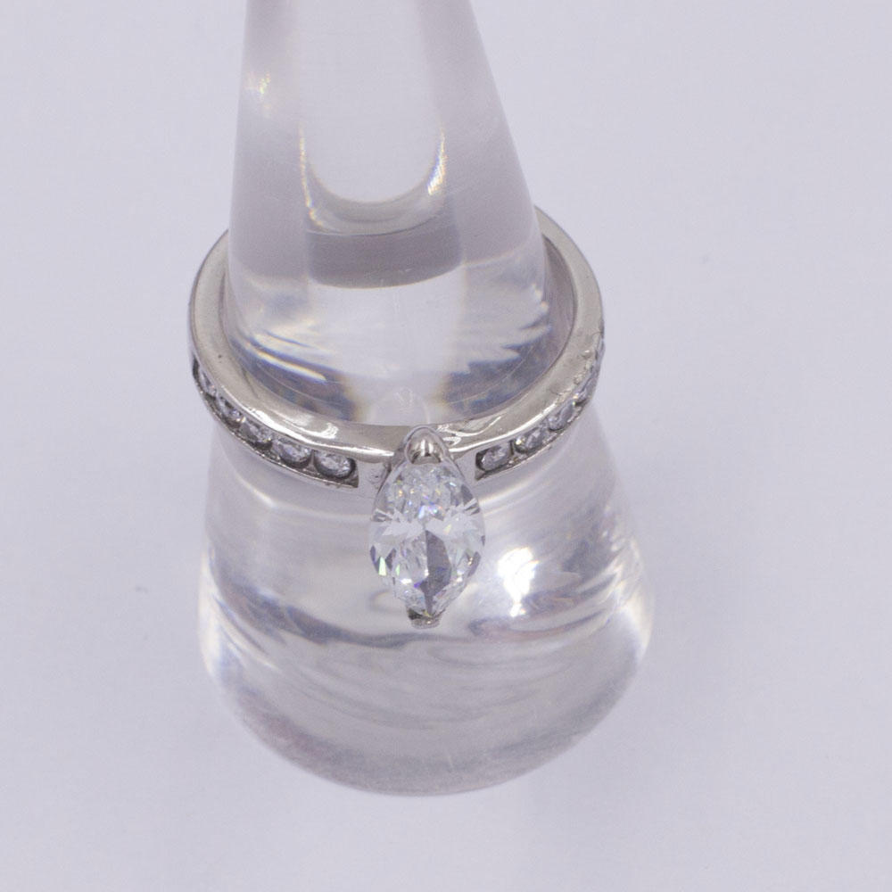 Guangzhou gemstone jewelry market stainless steel ring