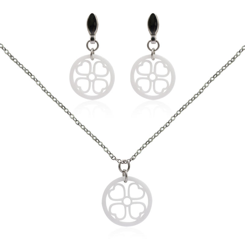 Ceram jewelry set stainless steel jewelry set VD057496-676
