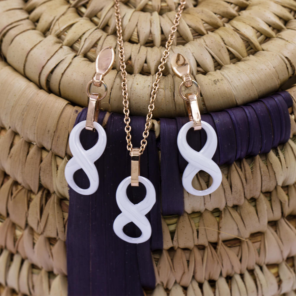 Women accessories jewelry set stainless steel set jewelry necklace set VD057499-676