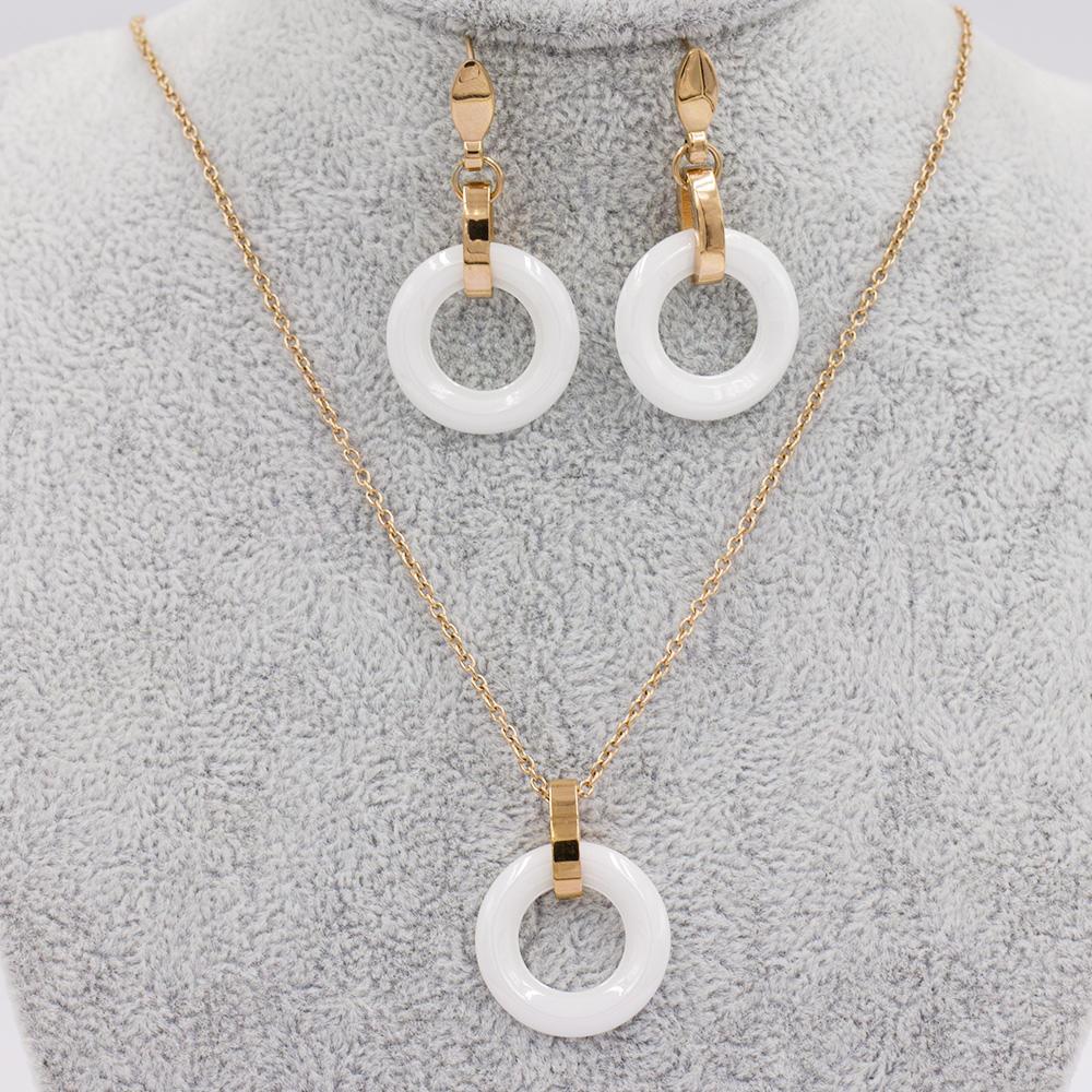 High quality jewelry set jewelry set steel jewelry set stainless steel VD057502-676