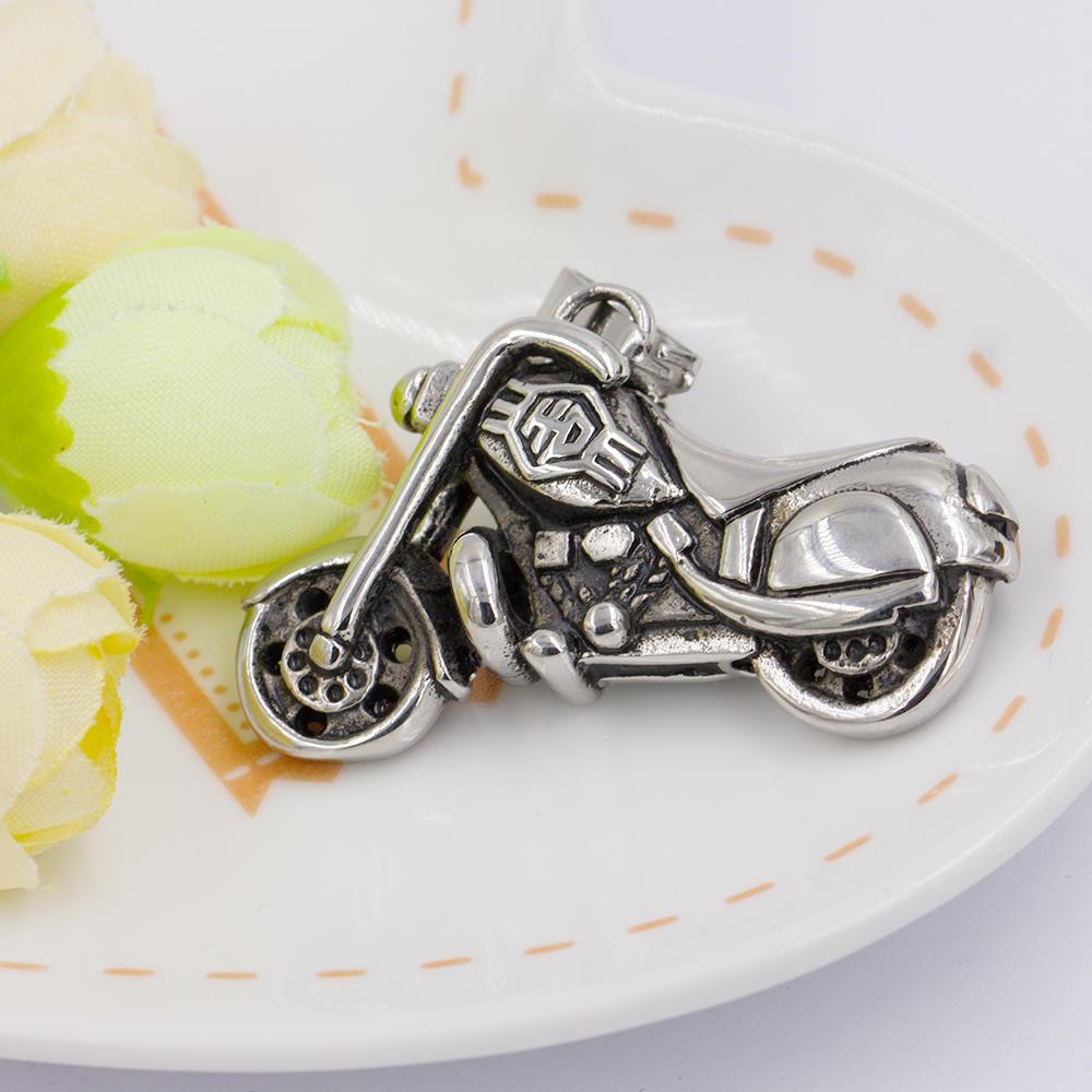 Metal pendant stainless steel pendant Motorcycle stainless steel pendant AW00016-367