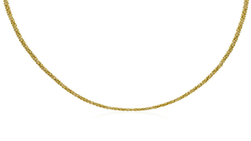 Classic gold chain jewelry women necklace