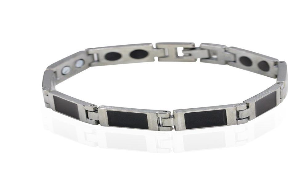 2019 magnetic clasp bracelet men steel bracelet