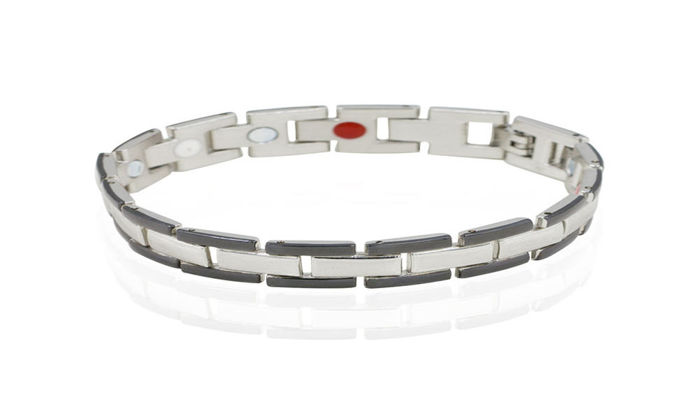 Smart magnet bracelet men stainless steel bracelet
