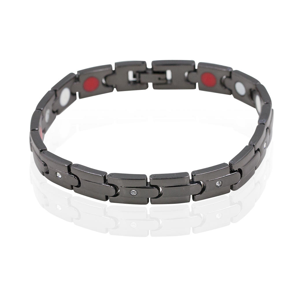 Men's charm unique bio magnetic tungsten bracelet  for wholesale-AW00403bhva-244