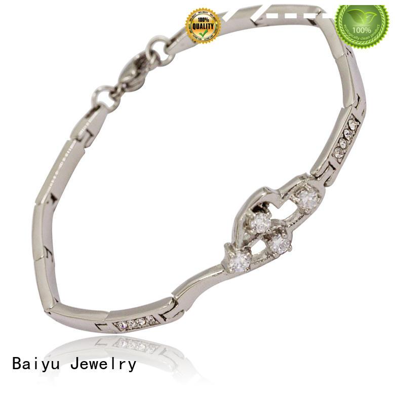 best manufacturer women's jewelry bracelets high-end for girls Baiyu Jewelry