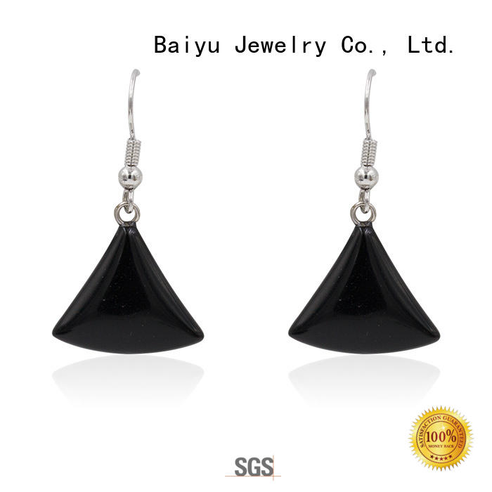silver jewellery earrings customized for lady