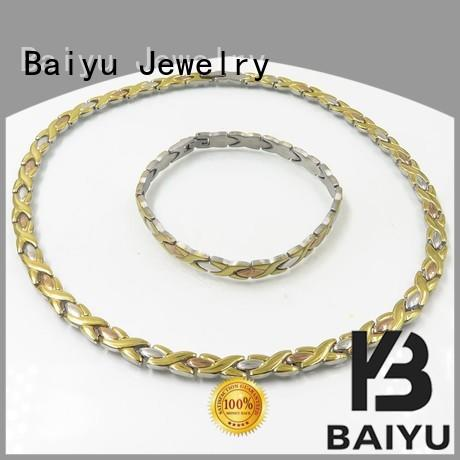 Baiyu Jewelry necklace and bracelet elegant