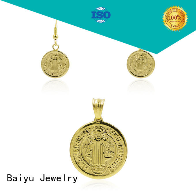 Baiyu Jewelry creative costume jewellery sets aw00255aivb371 for ladies