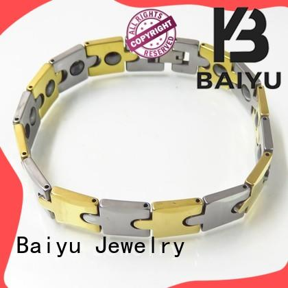luxury tungsten bracelet high-quality for girls Baiyu Jewelry
