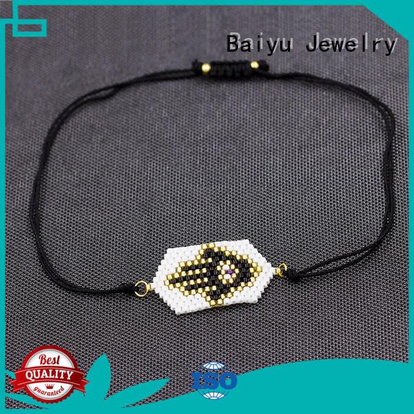 Baiyu Jewelry women's stainless steel bracelets by bulk for girl