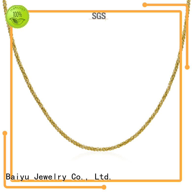 Baiyu Jewelry long wholesale stainless steel chains for wholesale for women