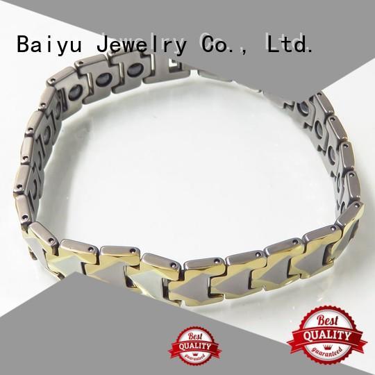 tungsten gold bracelet unique design for women Baiyu Jewelry