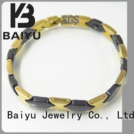 Baiyu Jewelry hot-sale bracelet ceramic layer for girls