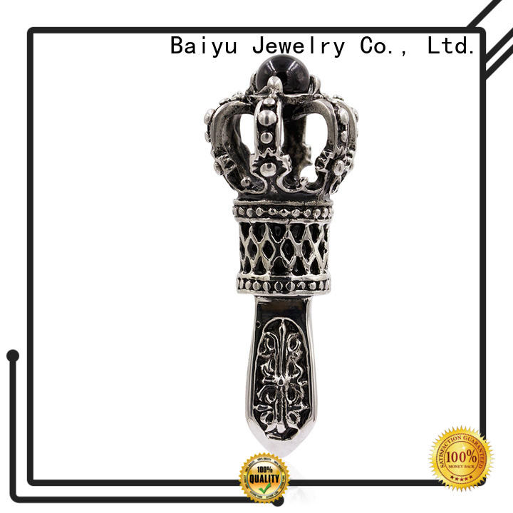 Baiyu Jewelry competitive price stainless steel pendant necklace for girls