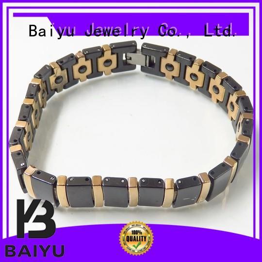 Baiyu Jewelry popular ceramic bracelet on-sale for wholesale