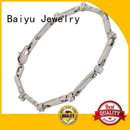 Baiyu Jewelry stainless steel bangle bracelets Suppliers