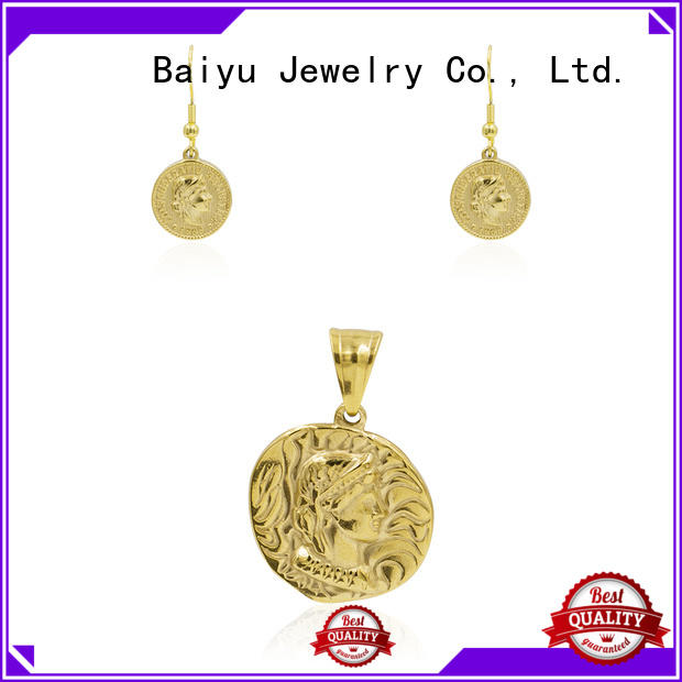 Baiyu Jewelry maple left costume jewellery sets chinese for friend