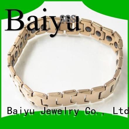 magnetic bracelet tungsten bracelet price Baiyu Jewelry Brand