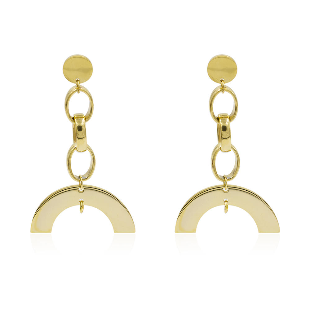Earrings for women , dubai earring, gold jewelry earrings - AW00023vbpb-371