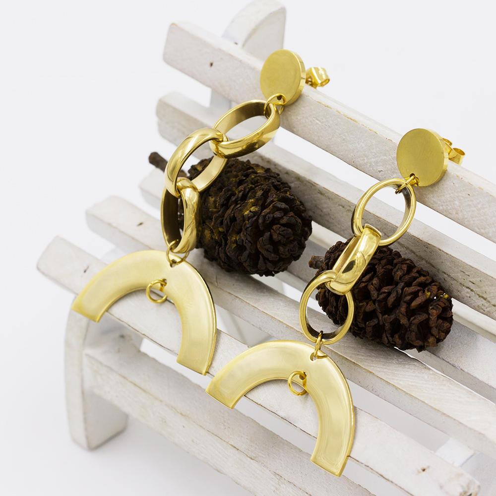 Earrings for women , dubai earring, gold jewelry earrings - AW00023vbpb-371