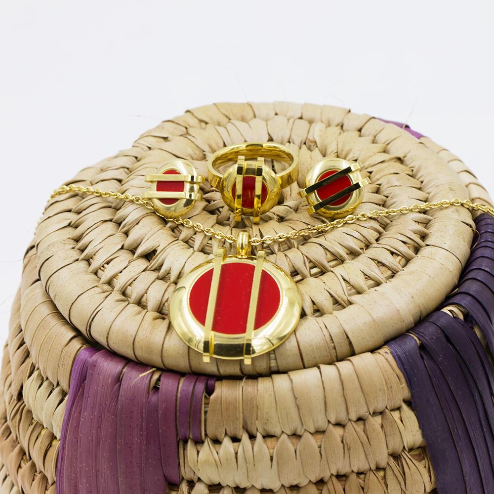 Little bee  4 pcs jewelry set charm jewelry set for fashion women - AW00041aima-371