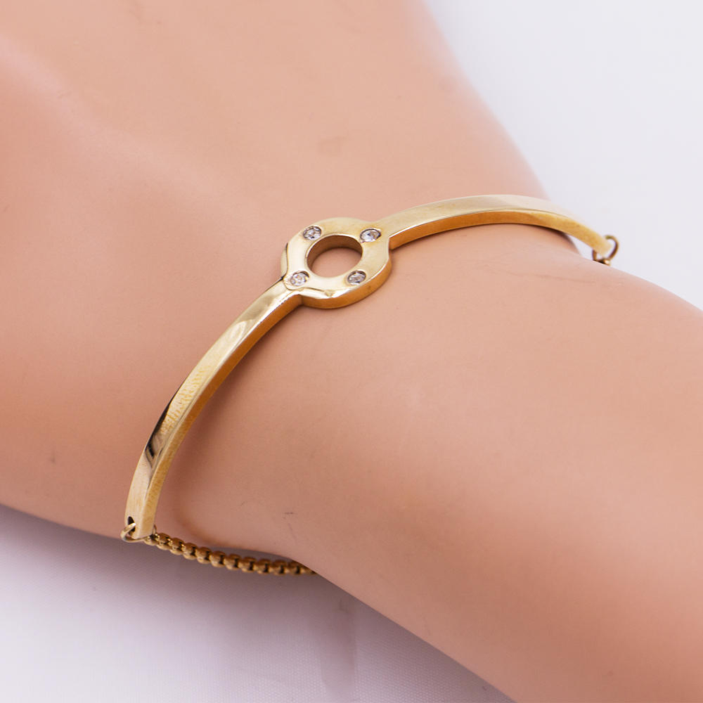 Fashion bangle charm bangle bracelet custom design for women - AW00078vhkb-683