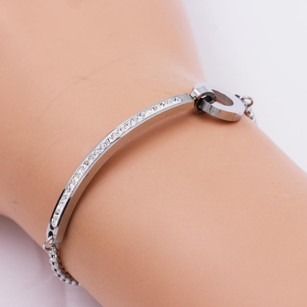 Women bangle  bracelet fashion design alloy bangle - AW00081vhkb-683